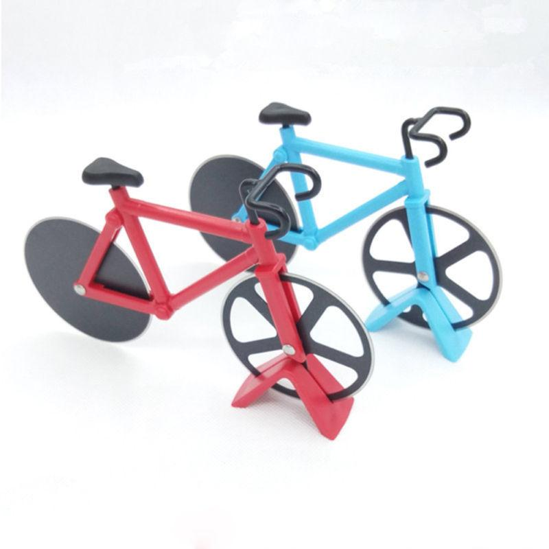 Bicycle Pizza Slicer Steel Chopper