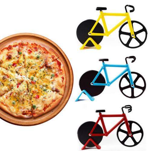 Bicycle Pizza Slicer Chopper Tool