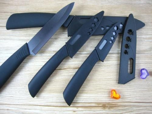 "Blade Set Kitchen 3""4""5""6""+Covers Black HOT"