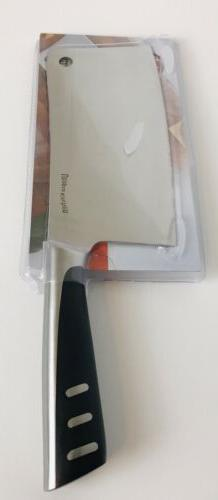 """Butcher Knife Utopia Kitchen 7"""" Stainless Steel New In Pac"""