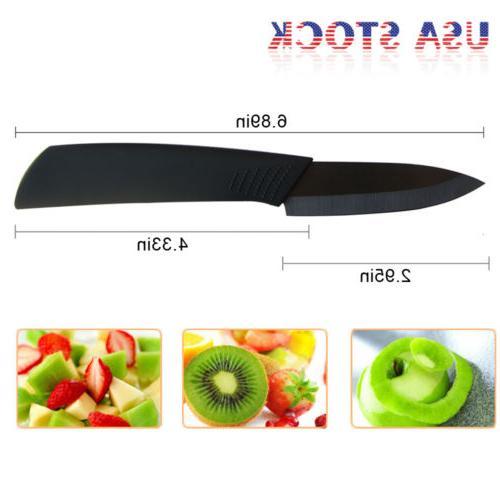 "Ceramic Knives 3"" 4"" 5"" 6"" + Knife Blade Set Cutlery"