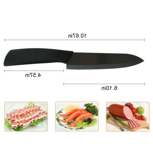 "Kitchen Ceramic 3"" Black Blade Cutlery Peeler"