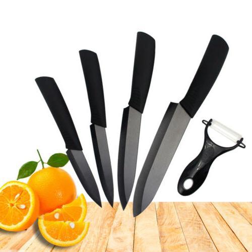 """Kitchen 3"""" 5"""" Black Blade Chef Cutlery"""