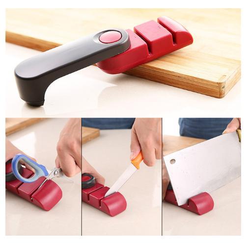 Chef Kitchen 8-Inch Steel Sharp Handl