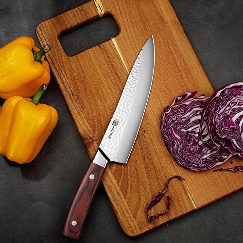 PAUDIN inch Knife - Pro Knife High Steel Sharp Knife Handle, Best Kitchen for Fruit Vegetables