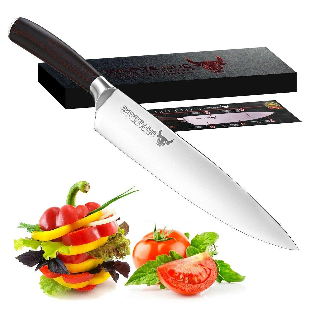 chef knife 8 inch professional high carbon