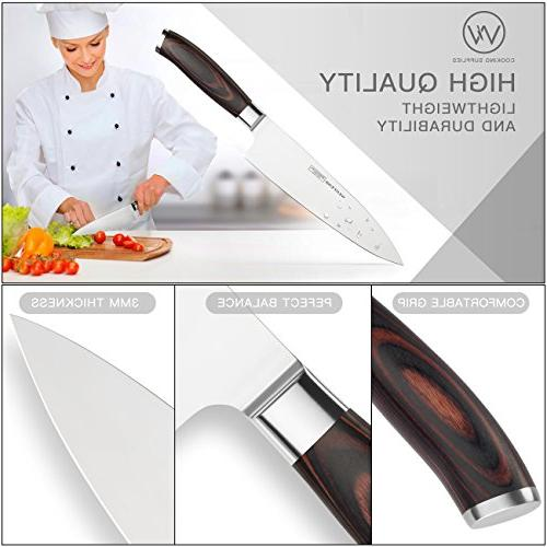 WENFENG Chef Knife, Inch Kitchen Knife High Carbon