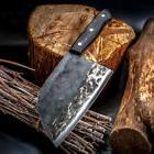 Handmade Chef Knife Chinese Forged Cleaver Meat Vegetables C