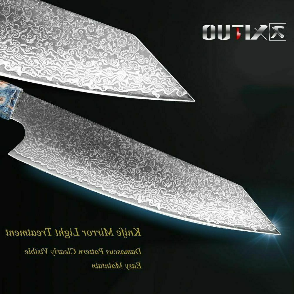 Chef Damascus Knives vg10 Damascus Steel Pro