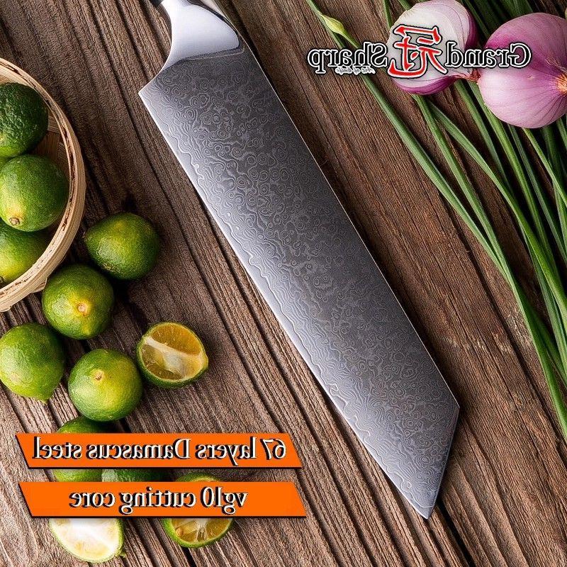 Chef's Knife vg10 Japanese Steel Kitchen Knives PRO