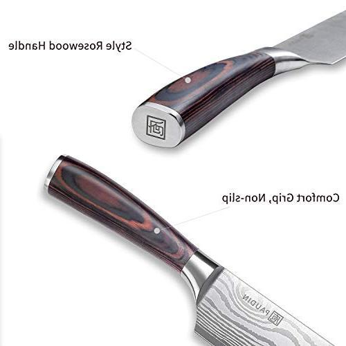 PAUDIN Hollow German High Steel Knife