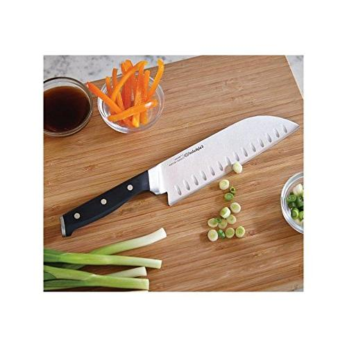 Calphalon Cutlery Set with In Technology - Piece 1 Chef's Utility Knife, - Knife, Length Utility Knife, 5 3.50 Length Cutting,