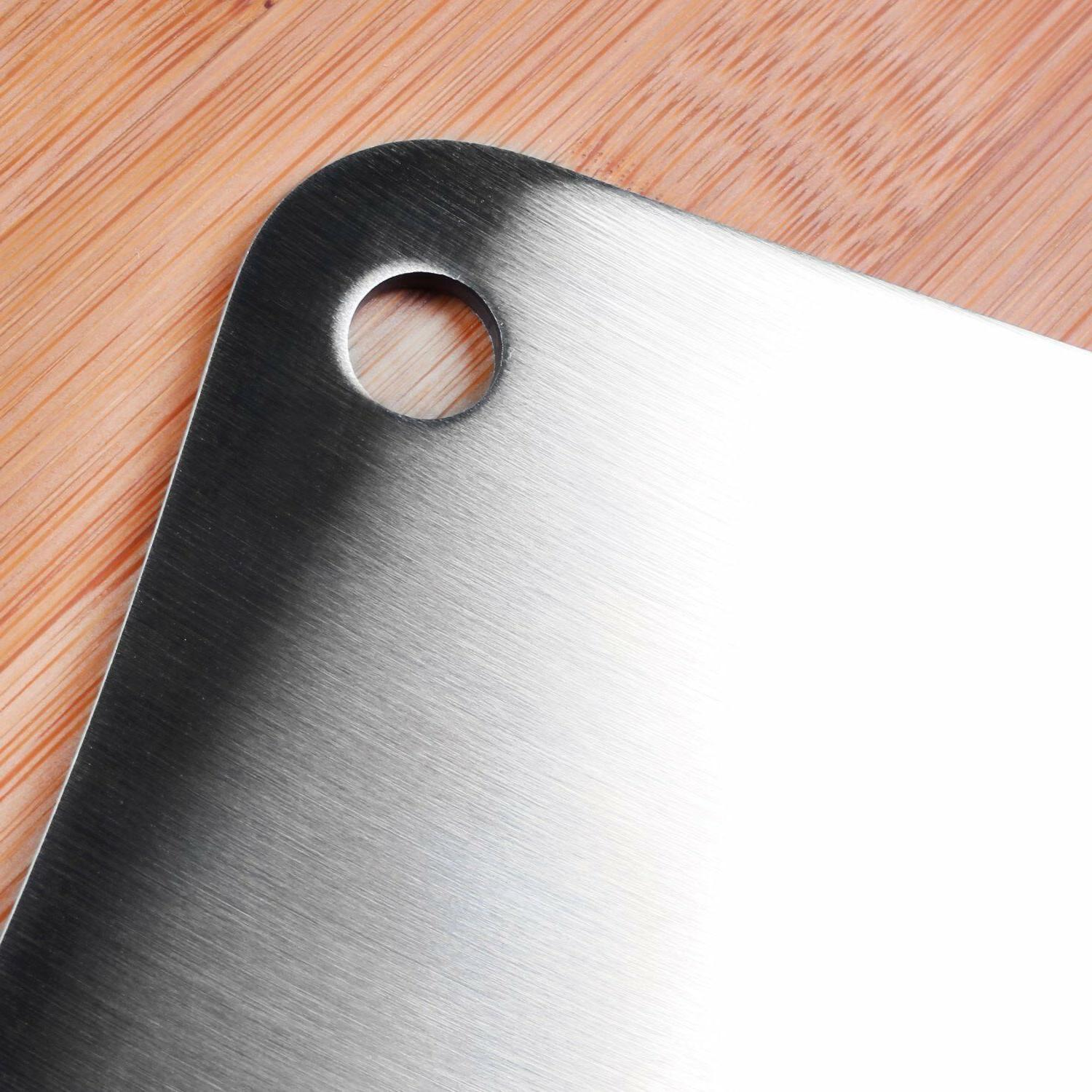 """Cleaver Stainless Steel Butcher 7"""" Home"""