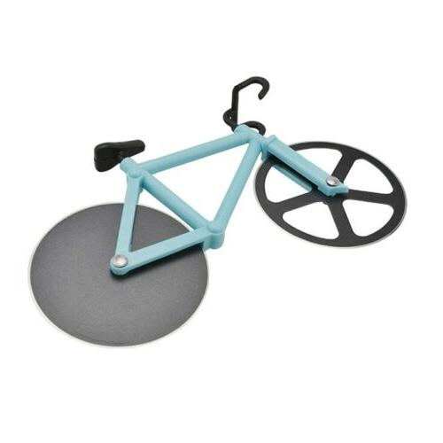 Creative Bicycle Stainless Steel Wheel Chopper Kitchen
