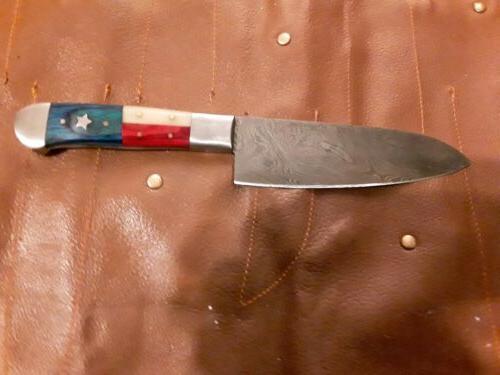 Custom handmade knife 7 Texas or American handles