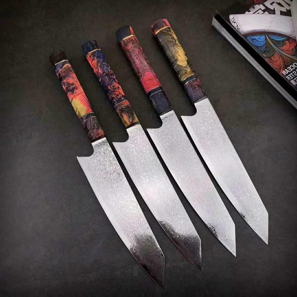 8 2 damascus kitchen knives vg10 japanese