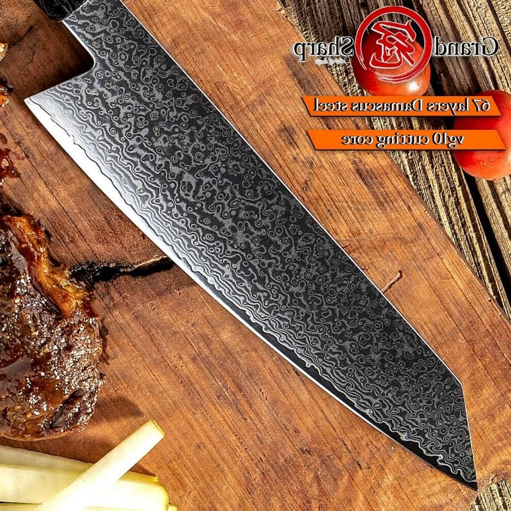 8.2'' Damascus Knives vg10 Japanese Chef Knife