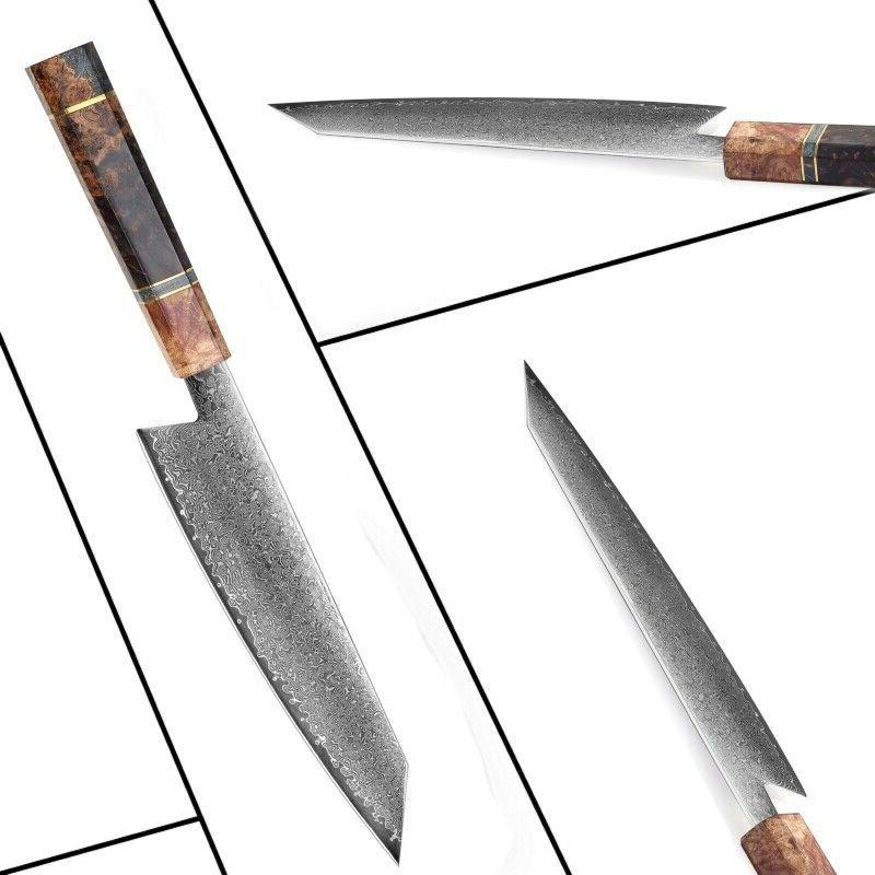 Damascus Knives Japanese Damascus Steel Kiritsuke Knife