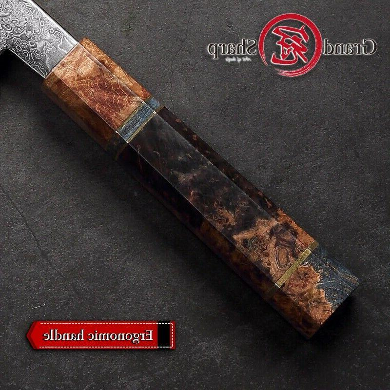 Damascus Kiritsuke Knife