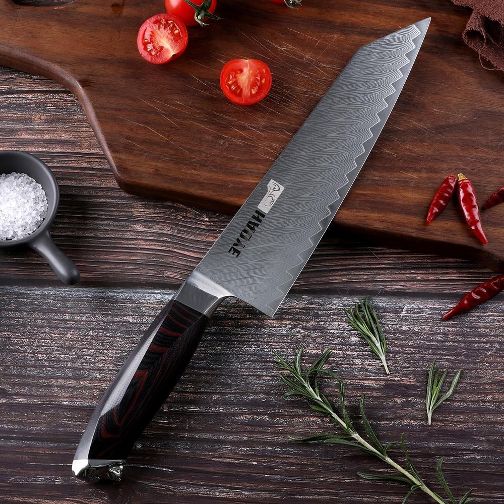 damascus steel chef font b knife b