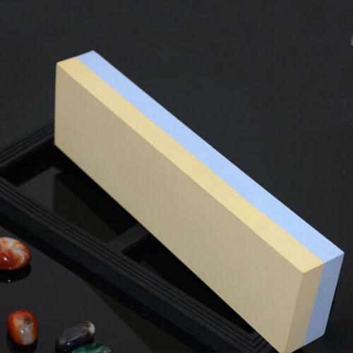 Dual Sharpener Stone Double Sided Whetstone Kitchen Tool