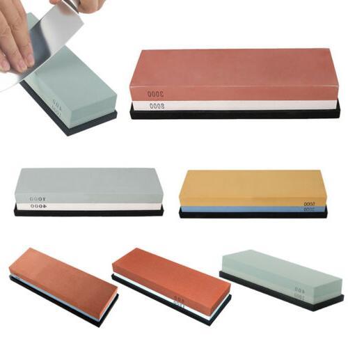 dual grit knife sharpening sharpener stone double