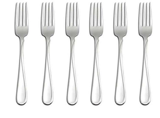 Oneida Flight Dinner Forks, Set of 6 New
