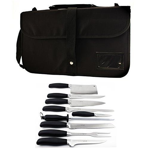 folding wrap knife set