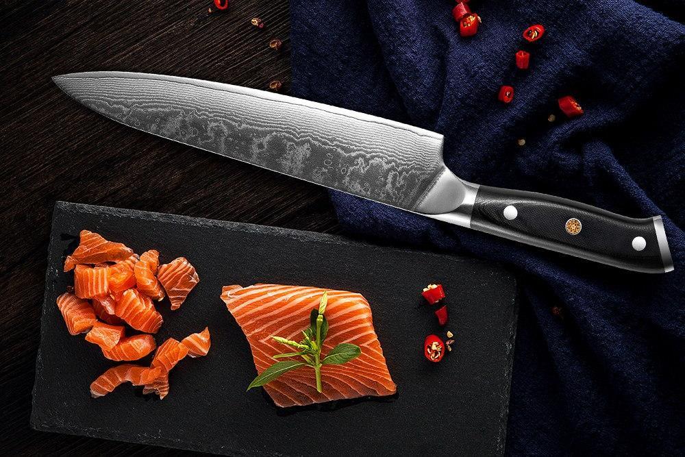 XITUO <font><b>Kitchen</b></font> Chef Set 67-story Slices <font><b>Kiritsuke</b></font> Sushi <font><b>Knife</b></font> Cooking