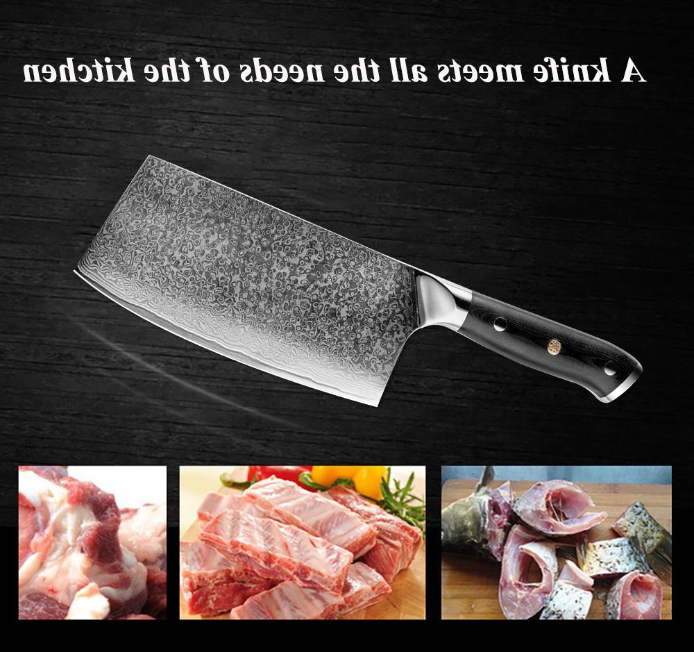 XITUO <font><b>Kitchen</b></font> Set VG10 67-story Slices Nakiri Sushi <font><b>Knife</b></font> Bone Japanese <font><b>Knife</b></font>