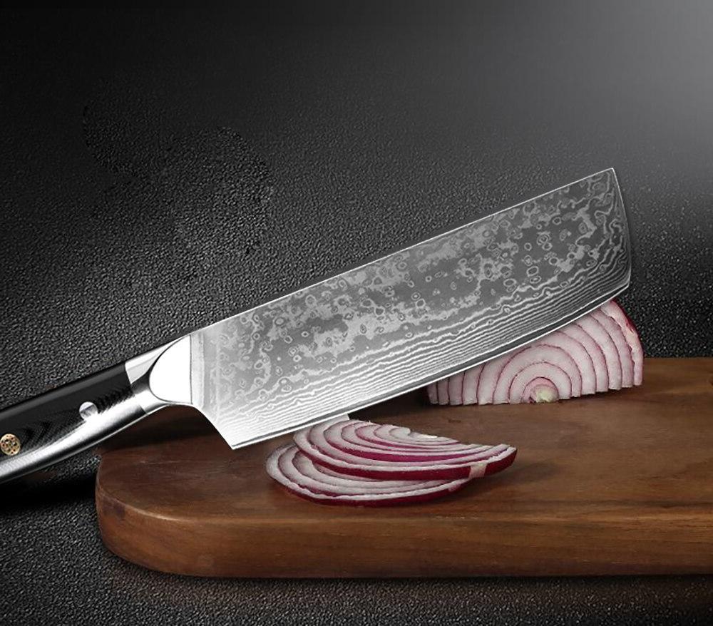 XITUO <font><b>Kitchen</b></font> Chef <font><b>Knife</b></font> Set VG10 Damascus 67-story Slices <font><b>Kiritsuke</b></font> Sushi <font><b>Knife</b></font>