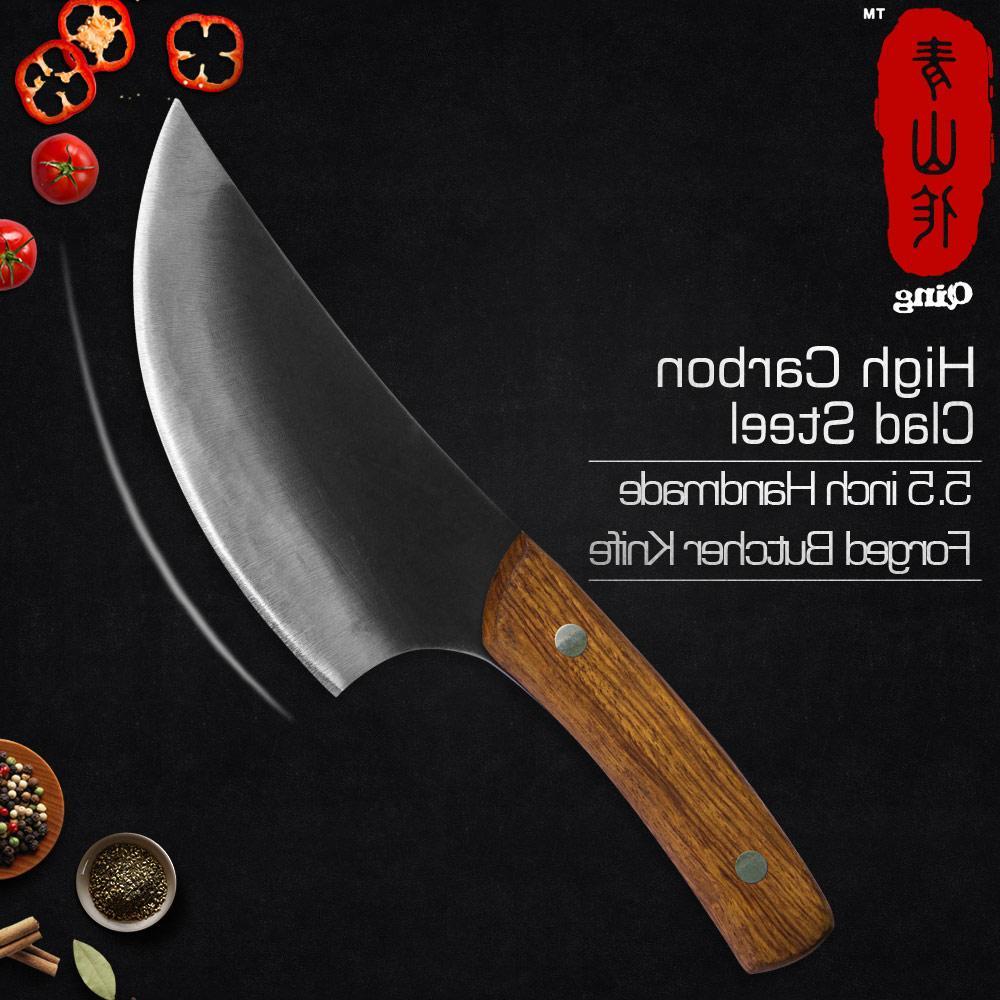 forged butcher font b knife b font
