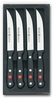 Wusthof Gourmet Steak Knife Set 4 Piece Knives Kitchen Cutle