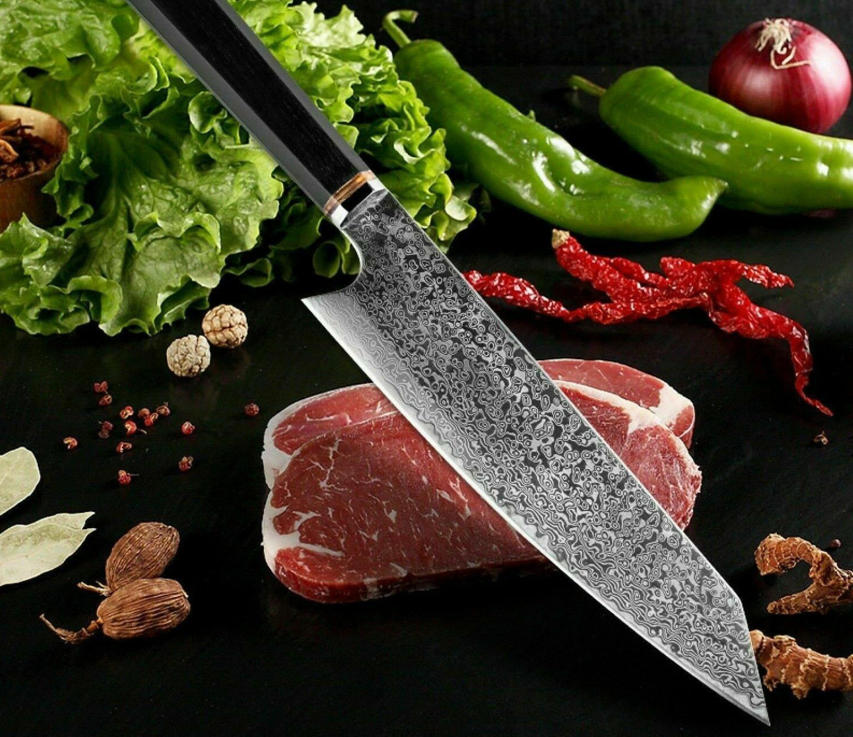 Handmade Kiritsuke Chef Knife Handle Kitchen
