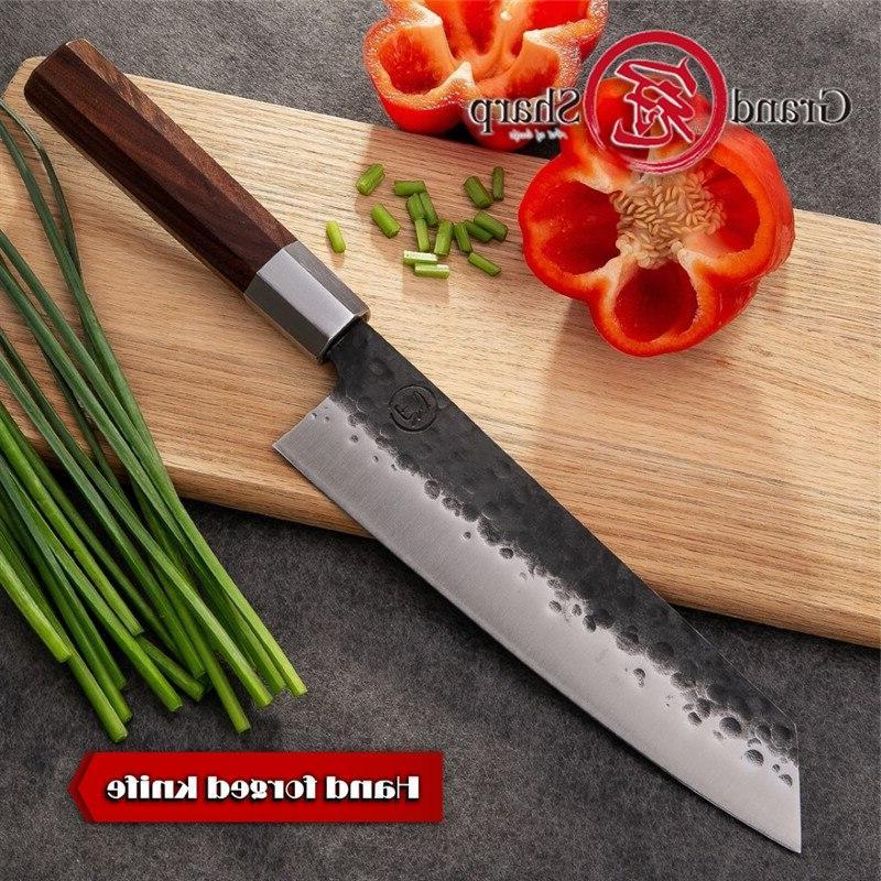 Handmade chef's Chef Japanese <font><b>Kiritsuke</b></font> <font><b>Kitchen</b></font> <font><b>Knives</b></font> Stainless Tool professional <font><b>knife</b></font> fillet