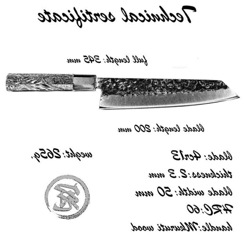 Handmade Chef <font><b>Knife</b></font> Japanese <font><b>Kiritsuke</b></font> <font><b>Knives</b></font> Stainless Steel Tool professional <font><b>kitchen</b></font> <font><b>knife</b></font> fillet