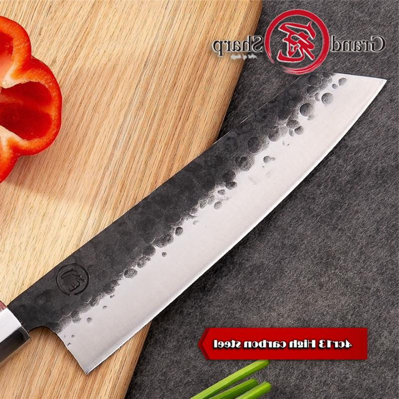 Handmade Chef <font><b>Knife</b></font> Japanese <font><b>Kiritsuke</b></font> Stainless Steel professional fillet
