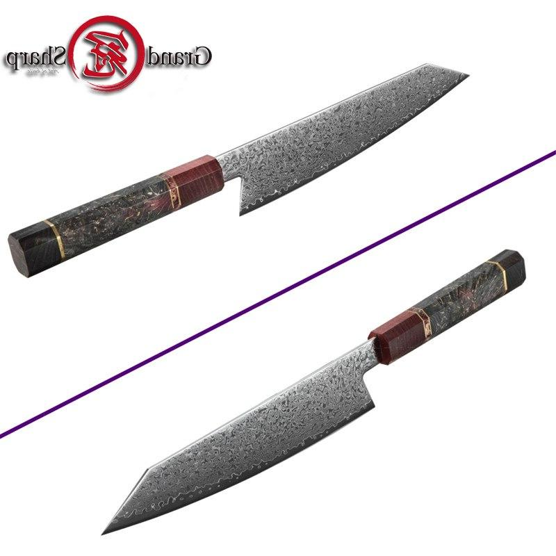 Handmade <font><b>Knife</b></font> Japanese Damascus Japanese Steel <font><b>Knives</b></font> Cooking Gift Box
