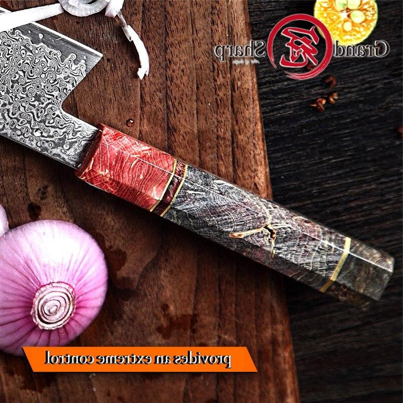 Handmade Damascus <font><b>Knife</b></font> Japanese Damascus <font><b>Kiritsuke</b></font> <font><b>Knives</b></font> Tools Gift