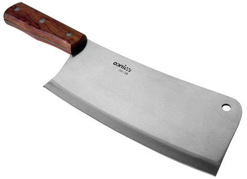 "NEW Heavy Duty Winco Meat Cleaver - 8"" Steel Blade - Free Ex"