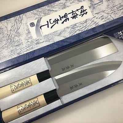 Japanese Kitchen Knife 2 PCS Made Japan