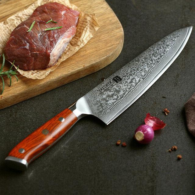 Japanese Damascus Kitchen VG10 Chef