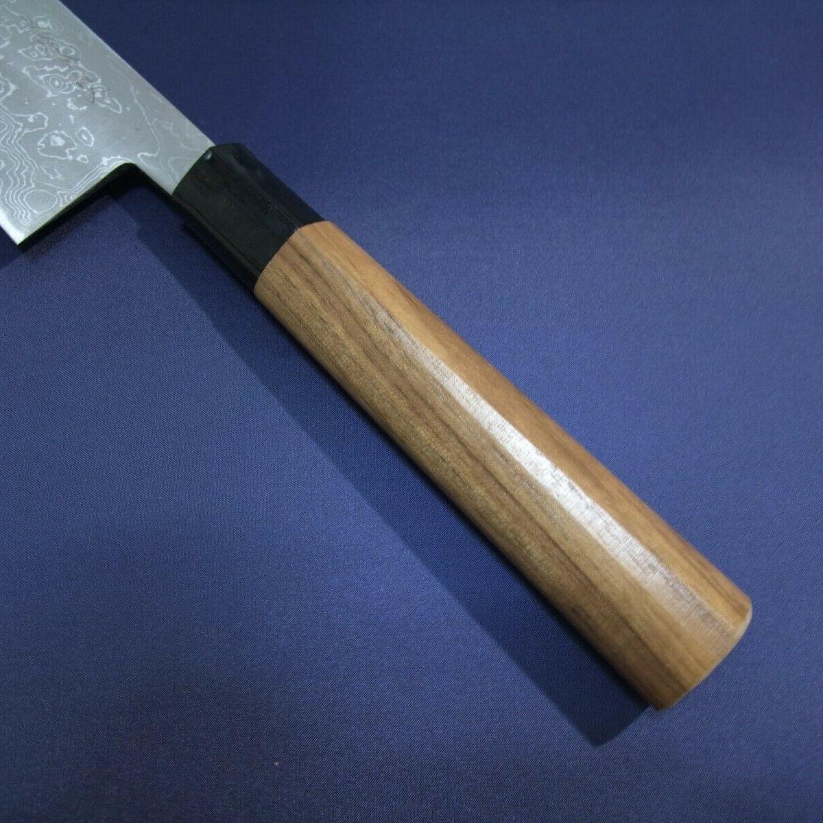 Japanese Knife KAJIWARA Damascus 210,240
