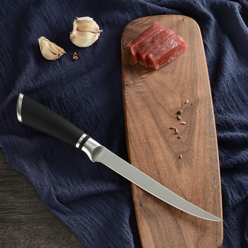 Sowoll Brand 9 <font><b>Kitchen</b></font> <font><b>Knives</b></font> Steel <font><b>Knife</b></font> Bread Chopping <font><b>Santoku</b></font> Utility <font><b>knife</b></font>