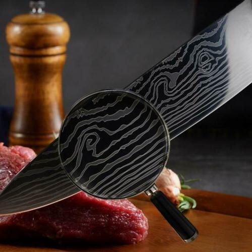 Japanese Kitchen Damascus Pattern Chef