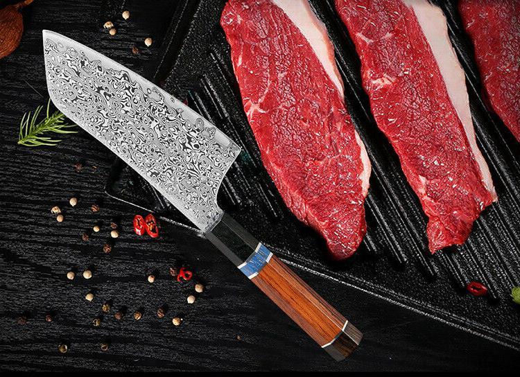Japanese Style Knife Damascus Chef Knives