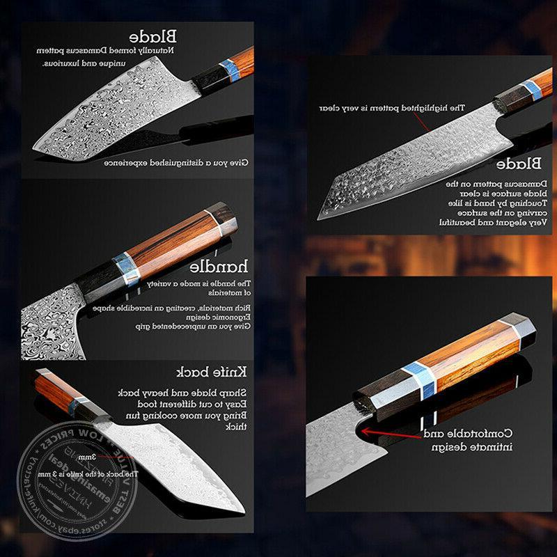 Damascus Chef Knife Kitchen Knives