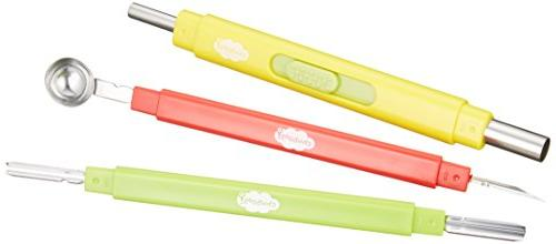 kai decorative cut knife set