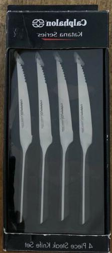 Calphalon Katana 4-Piece Steak Knife Set