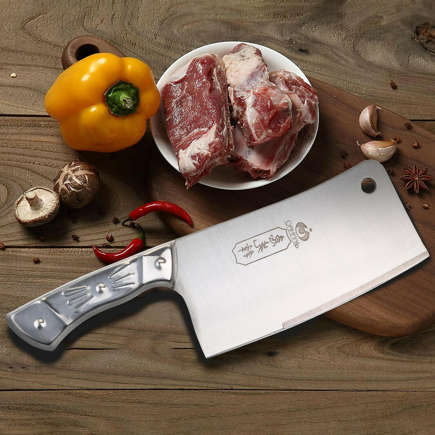 Kitchen 7'' Cleaver Chopper Stainless Steel for US